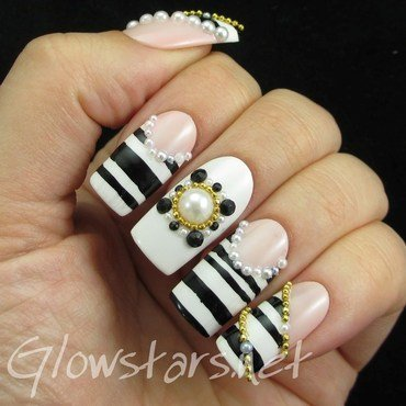Elegant nails black white new 135 1 thumb370f