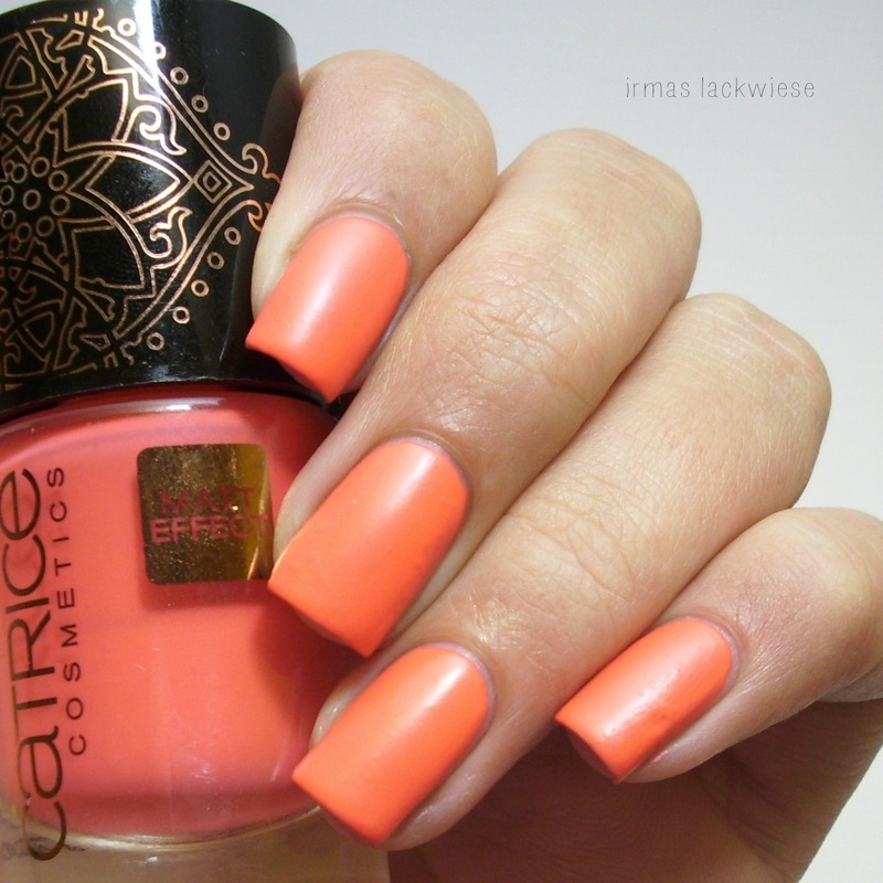 catrice nomadic traces nomaddicted to red Swatch by irma