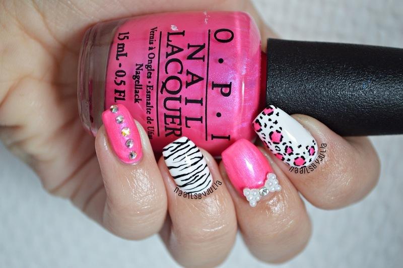 Mix & match nail art by Julia