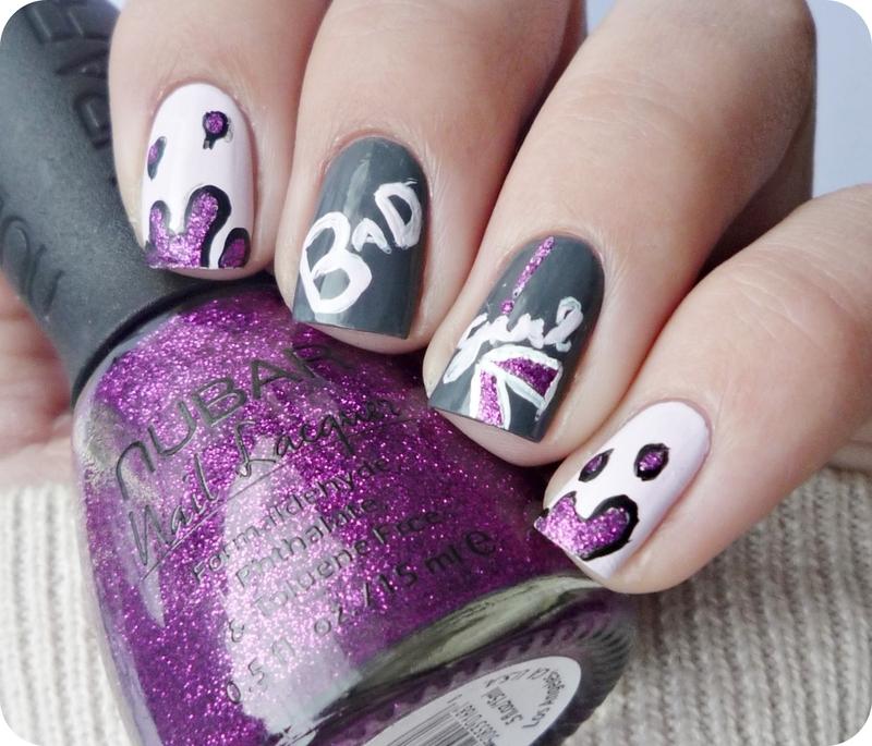 Street Art nail art by Romana