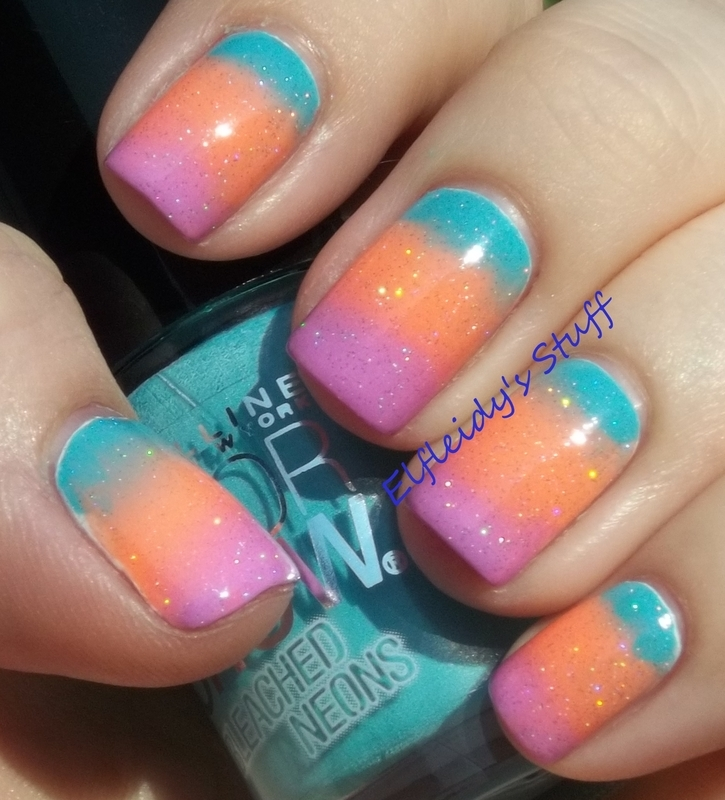52WPNMC- pastels/lilac and teal nail art by Jenette Maitland-Tomblin