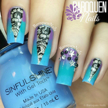 Zodiac nail art by BaroquenNails