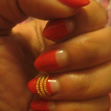 hot tamale nail art by Nell_Q