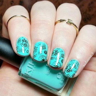 Stamping Nailart nail art by nailicious_1