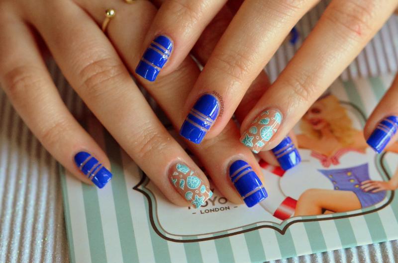 Hey Sailor! nail art by 9th Princess