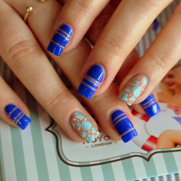 Hey Sailor! nail art by 9th Princess