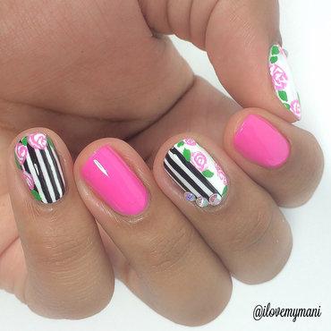 Floral Nails! nail art by Gabrielle