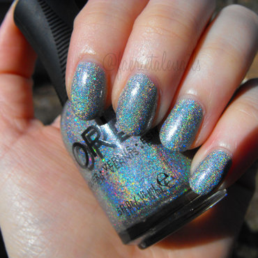 Orly Mirrorball Swatch by faerietalenails