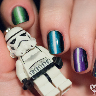 May The 4th Be With You nail art by Lacquered Obsession