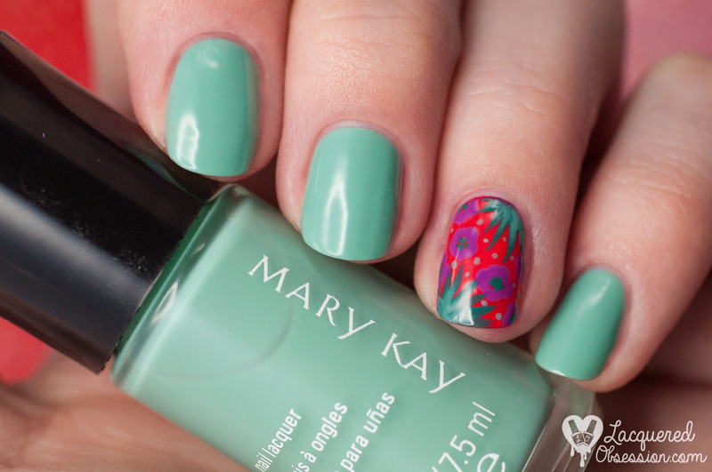 Mary Kay Paradise Calling Seafoam Swatch by Lacquered Obsession ...