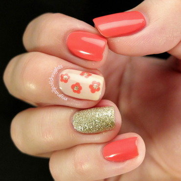 Spring time nail art by Anna Malinina