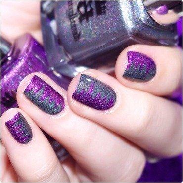 Purple ! nail art by Bulleuw
