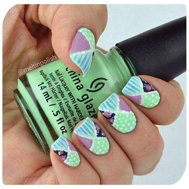 Undercover nail art by Meltin'polish