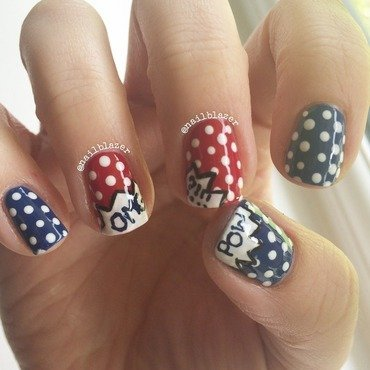 Cartoon Nails nail art by Nailblazer