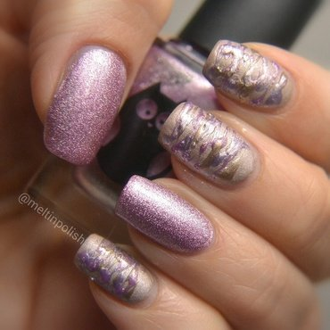 Touchable nail art by Meltin'polish