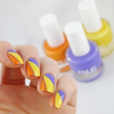 FNUG Summer Nails nail art by Ann-Kristin