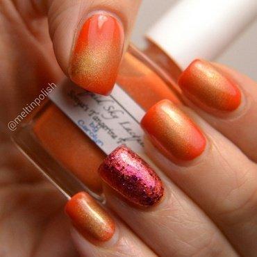 B/W nail art by Meltin'polish