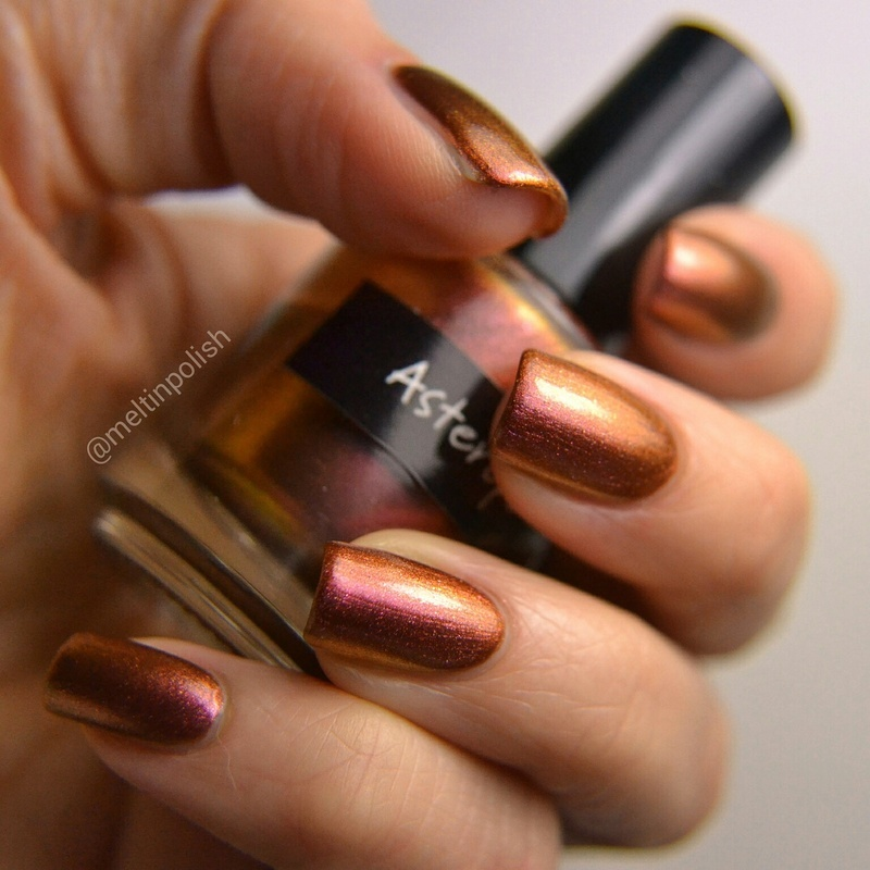 CrowsToes Asterope Swatch by Meltin'polish
