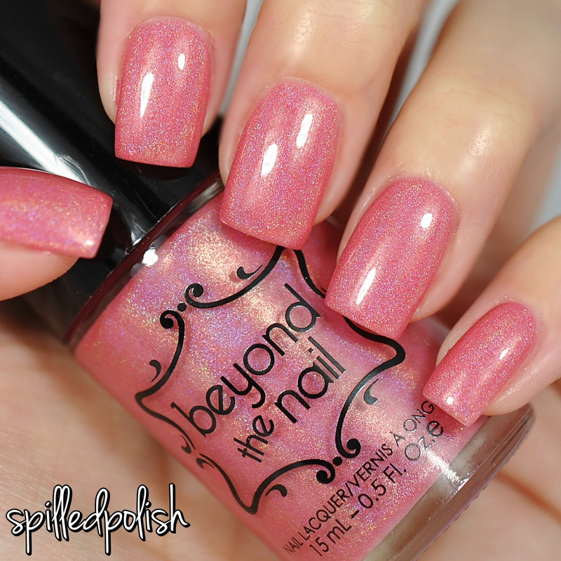Beyond The Nail Pink Lady Swatch by Maddy S