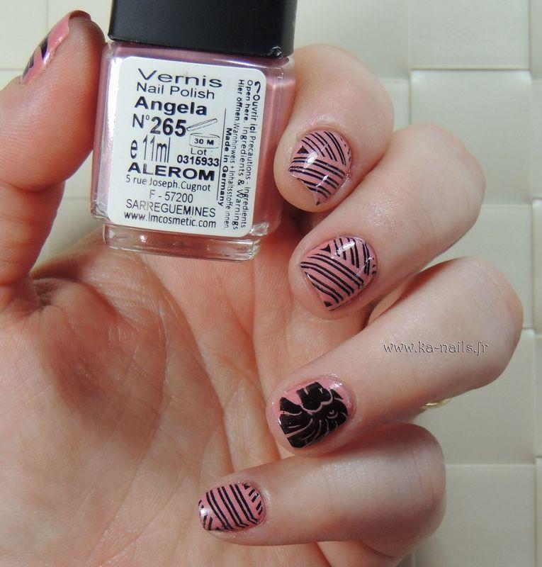 Angela and Lion nail art by Ka'Nails