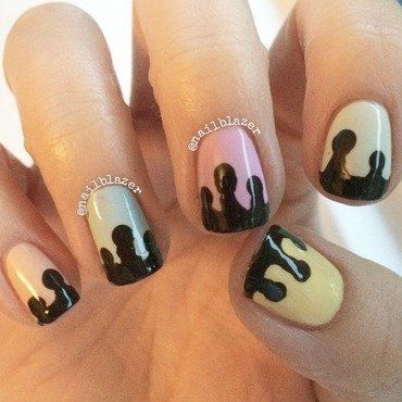 Ice Cream Nails nail art by Nailblazer
