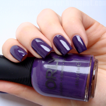 Orly Plum Sugar Swatch by ania