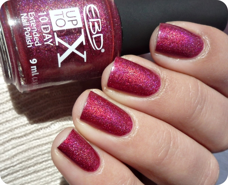 EBD Up To X 20 Exquisit Rouge Swatch by Romana