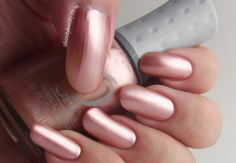 Orly Chantilly Peach Swatch by Ithfifi Williams