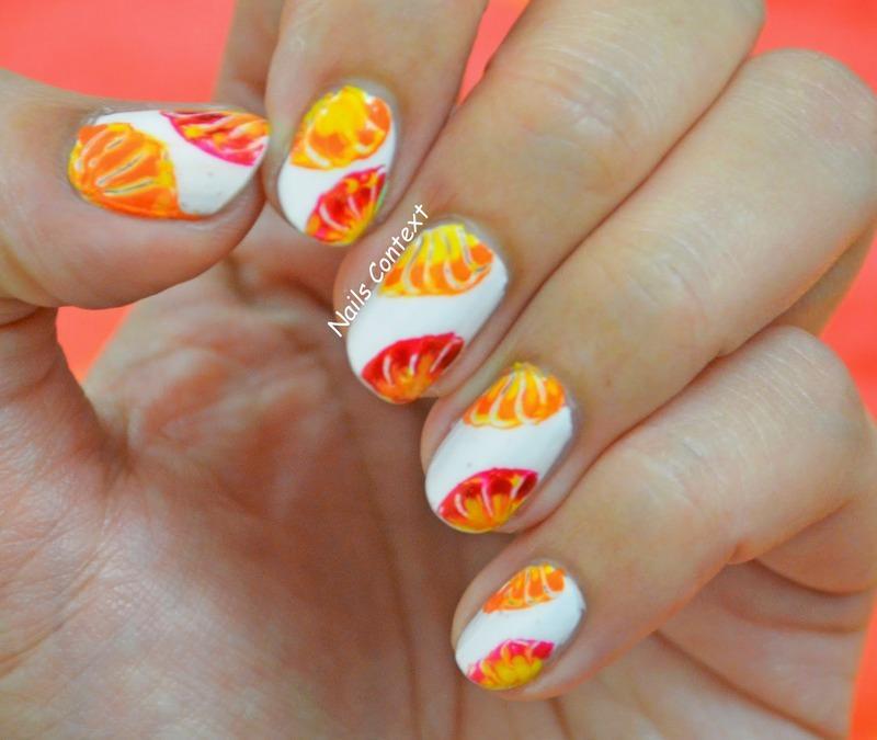 Citrus summer nails nail art by nailscontext nailpolis museum citrus summer nails nail art by nailscontext prinsesfo Gallery