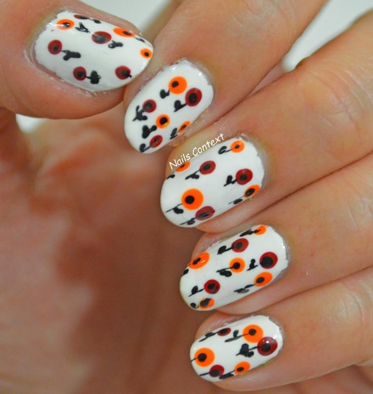BLOOMS nail art by NailsContext