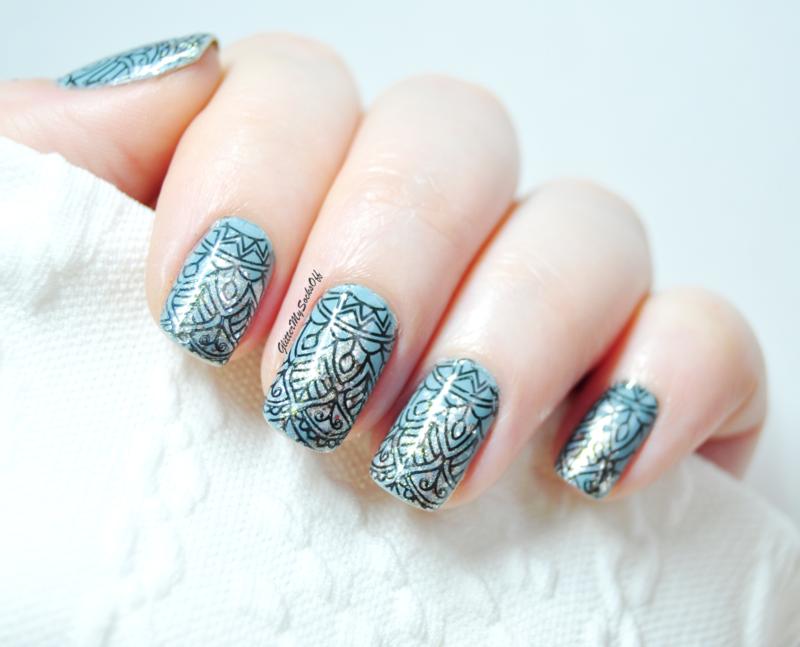 Glittery glitter nail art by GlitterMySocksOff
