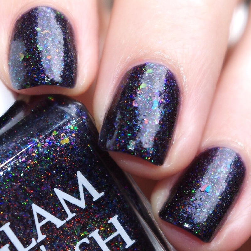 Glam Polish Kilauea Swatch by Bulleuw