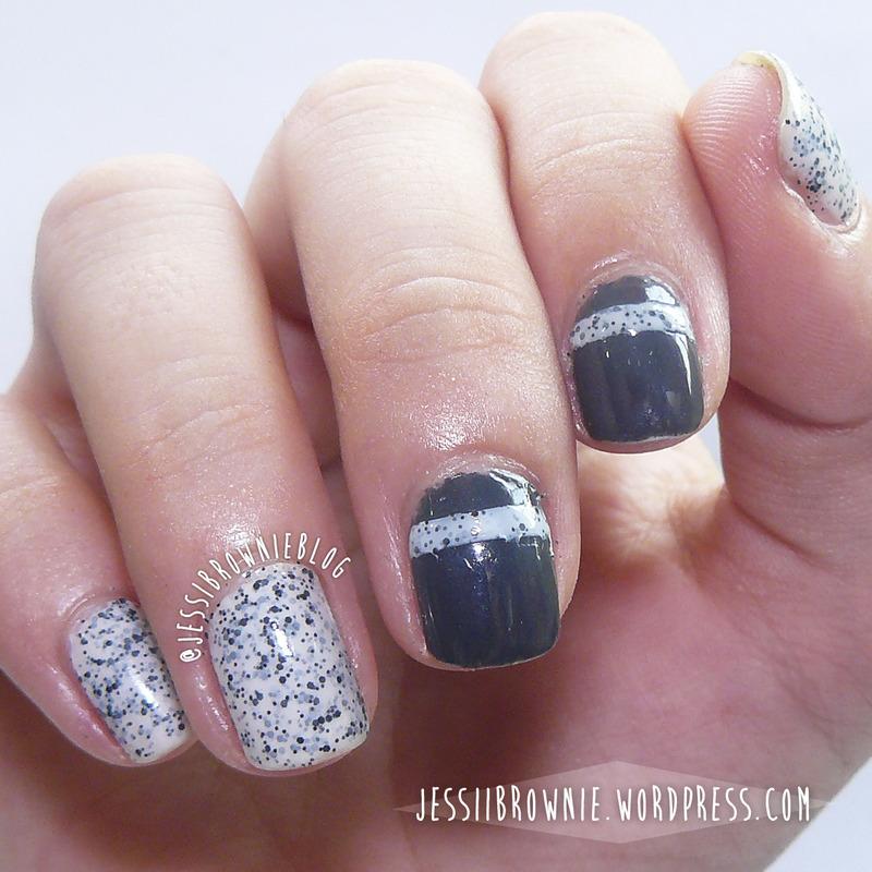Sweets & Glitter nail art by Jessi Brownie (Jessi)