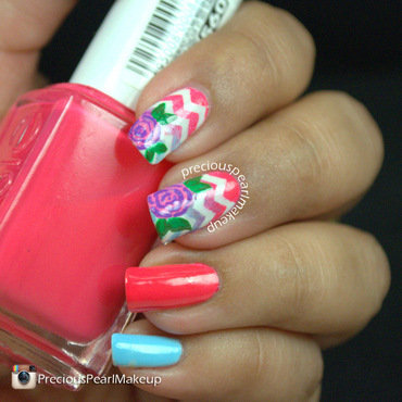 Roses 20and 20chevron 20nail 20art 204 thumb370f