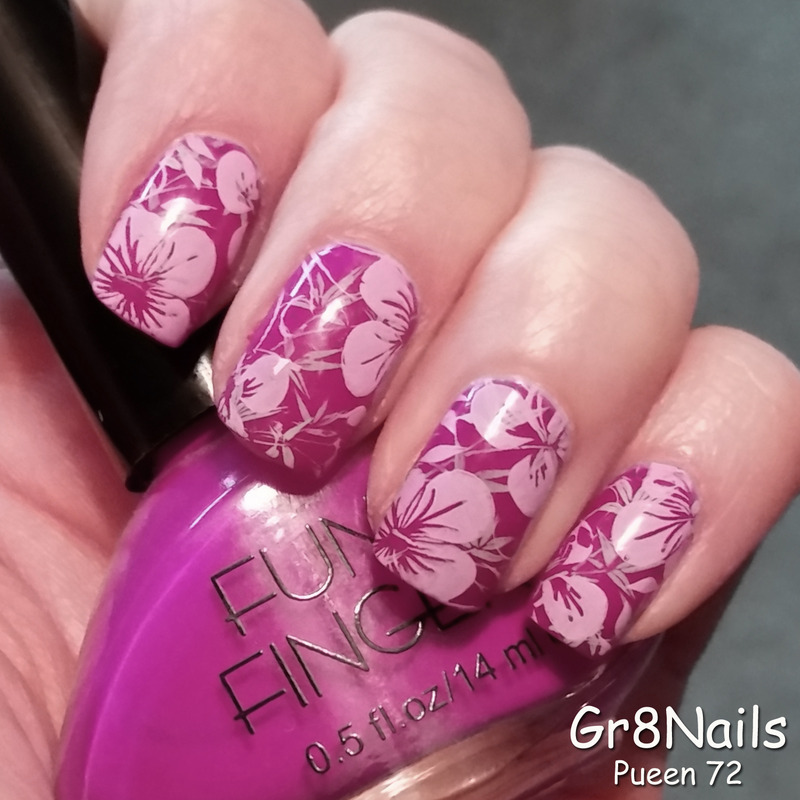 Pueen 72 nail art by Gr8Nails