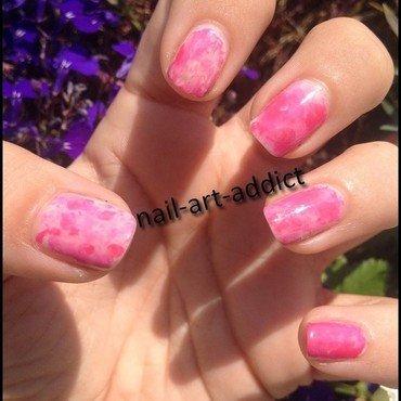 Nail Art : Saran Wrap Nails nail art by SowNails