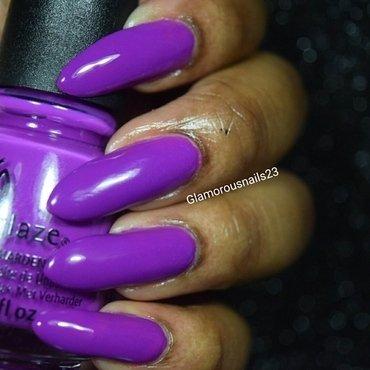 China Glaze Violet -Vibes Swatch by glamorousnails23
