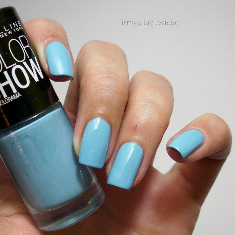 Maybelline Cool Blue 651 Swatch by irma