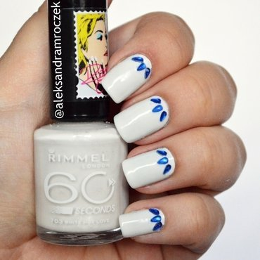 Rita Ora for Rimmel 60 Seconds 703 White Hot Love Swatch by Aleksandra Mroczek