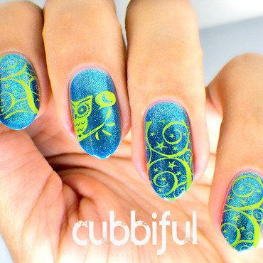 Owl stamping nails thumb370f