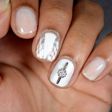 Tradtional Bride nail art by Fatimah