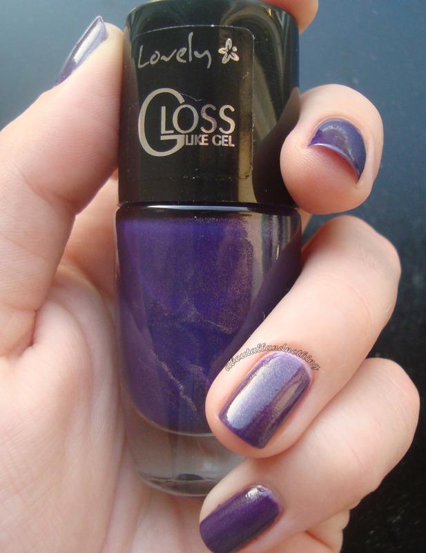 Lovely Gloss Like Gel Nr 238 Swatch by Kasia