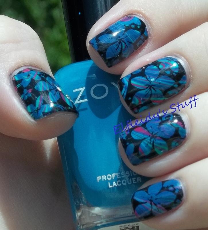 30DoCC- blogger's choice nail art by Jenette Maitland-Tomblin