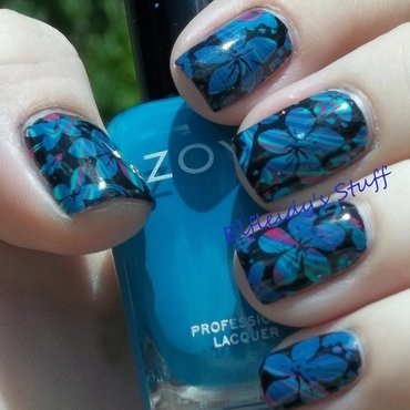 30DoCC- blogger's choice nail art by Jenette Maitland-Tomblin