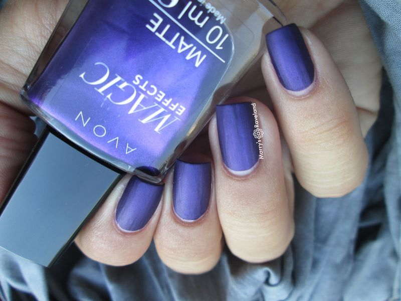 Avon Magic effects matte Violetta Swatch by Marina - Nailpolis ...