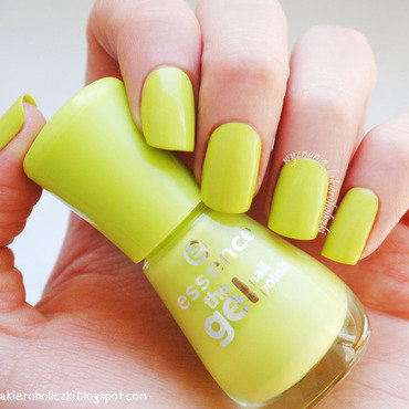 Essence The Gel Nail Polish 27 Don't be shy Swatch by Olaa
