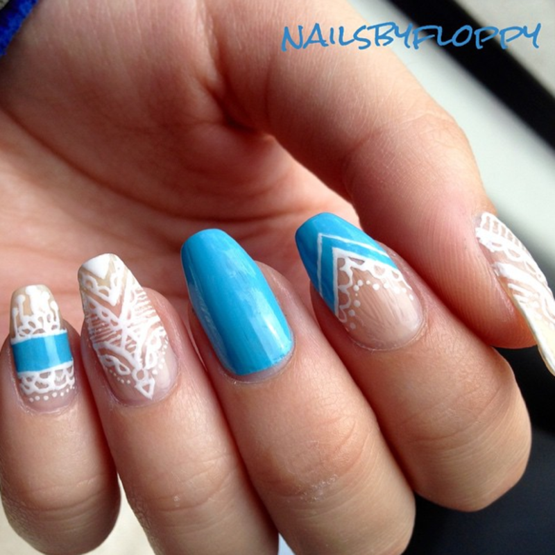 Crowned nail art by nailsbyfloppy