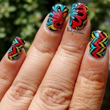Mimeo nail art by Nicky