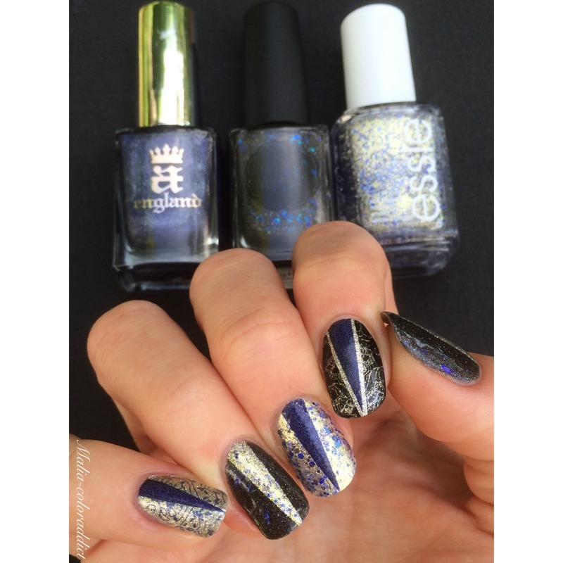 1001 nuits nail art by Maliacoloraddict
