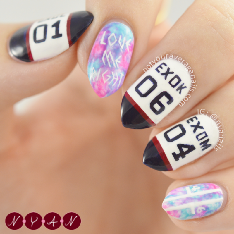 Love Me Right nail art by Becca (nyanails) - Nailpolis: Museum of ...